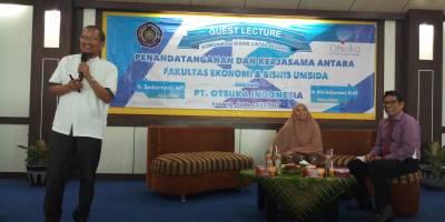Gues Lecture Magister Manajemen : Komunikasi Bisnis Lintas Budaya